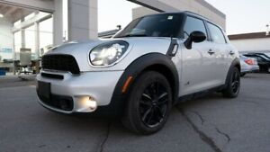 2013 MINI Cooper Countryman S, ALL4, HEATED SEATS, PANORAMIC SUNROOF, AC, S, A