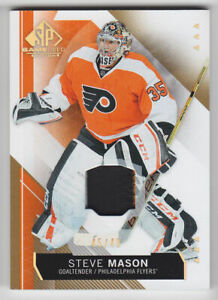 2015-16-UD-SPGU-STEVE-MASON-PATCH-3CL-49-GOLD-SPECTRUM-39-SP-GAME-USED-Flyers