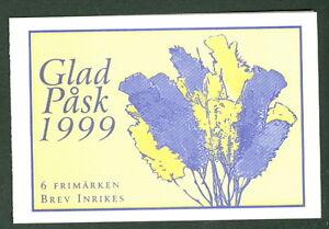 SWEDEN (H505) Scott 2322a, 1999 Easter booklet, VF