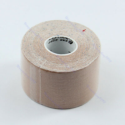 Kinesiology Sports Muscles Care Elastic Physio Therapeutic Tape 1 Roll 5m x 5cm