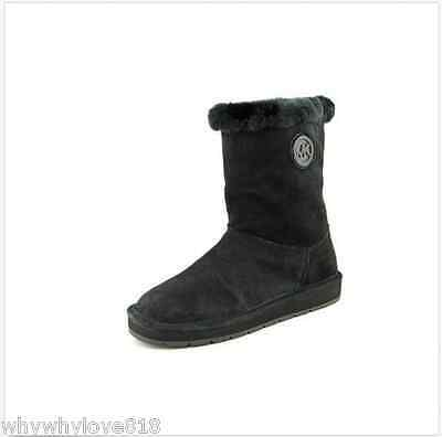 spara av väldigt billigt klassisk NIB NEW Women Michael Kors Winter Mid Boots Suede Winter Boots ...