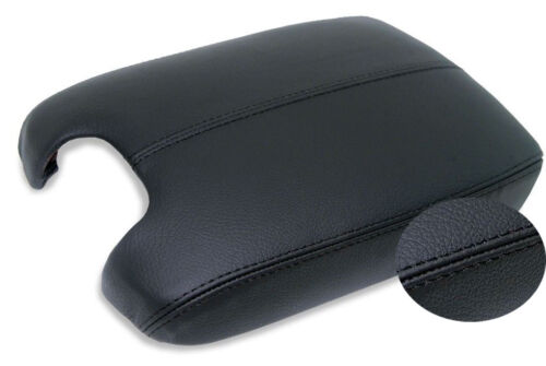 Center Console Armrest Leather Synthetic Cover for Honda Accord 08-12 Black