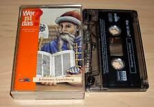 Wer ist das? Hörspielkassette MC - Wissensspiel für Kinder - Johannes Gutenberg