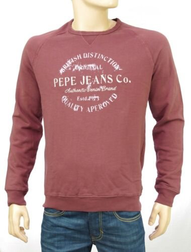 Pm581118 Homme 881 Shirt Jeans Coloris Pepe Raisin Ryan Bordeaux Sweat pH4Rw00