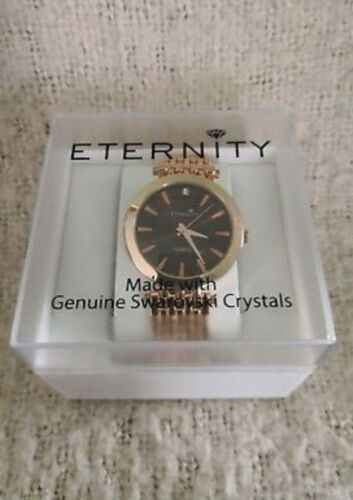 Ladies Eternity Watch Made With Genuine Swarovski Crystals