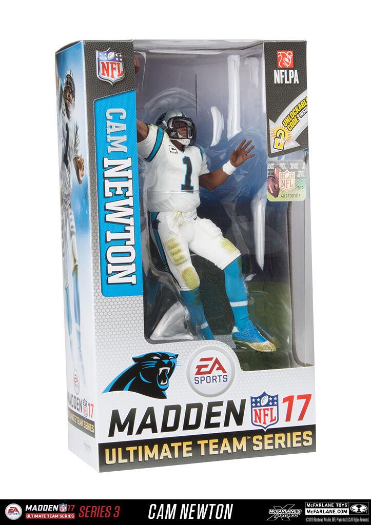 McFarlane NFL MADDEN 17 - CAROLINA PANTHERS - Cam Newton - ULTIMATE PERSONAGGIO