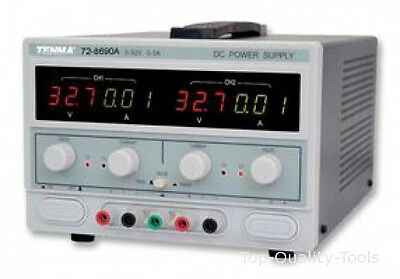 POWER SUPPLY, 2CH, 32V, 3A, ADJUSTABLE MPN: 72-8690A TENMA