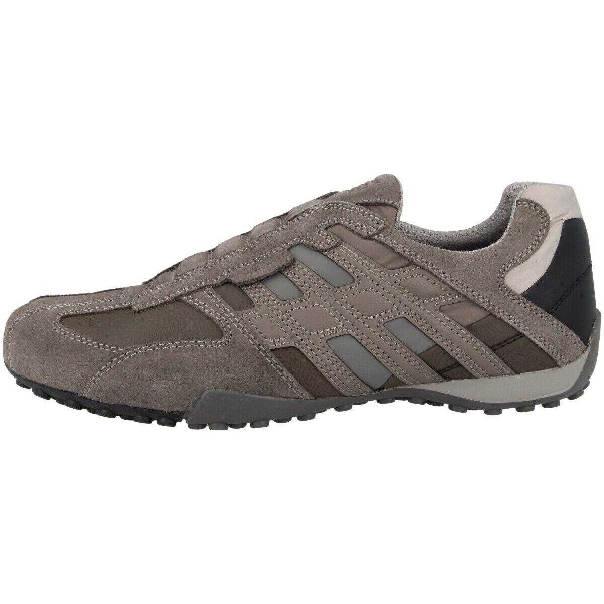Geox U SNAKE F zapatos Mens Casual zapatilla de deporte Low zapatos Stone U8207F022MEC9M5Y