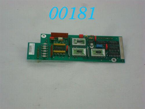Siemens Sinumerik integrada impulsformer 6fc3981-3hm