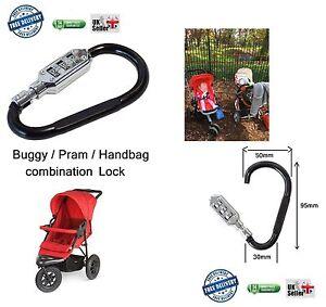 Image Is Loading Small Buddy Pram Stroller Buggy Hook Lock Padlock