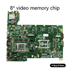 Asus G74SX Gaming Intel Laptop Motherboard s989 69N0L8M17B15 60-N56MB2700-B15