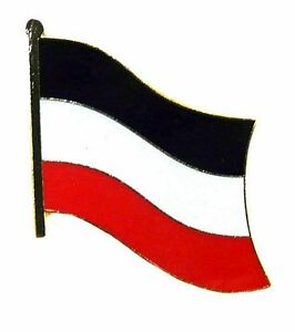 Fahnen-Pin-Deutsches-Reich-Kaiserreich-Anstecker-Flagge-Fahne