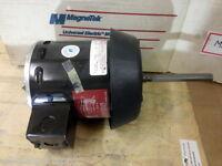Magnetek Hf3k042n Universal Electric Motor .6 Hp 1075 Rpm, M210