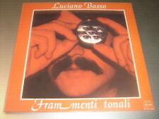 Luciano Basso – Frammenti Tonali LP Ariston 1979