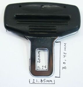 Male-Seatbelt-Buckle-Seat-Belt-VW-Audi-Mercedes-Porsche-911-Carrera-Cayenne