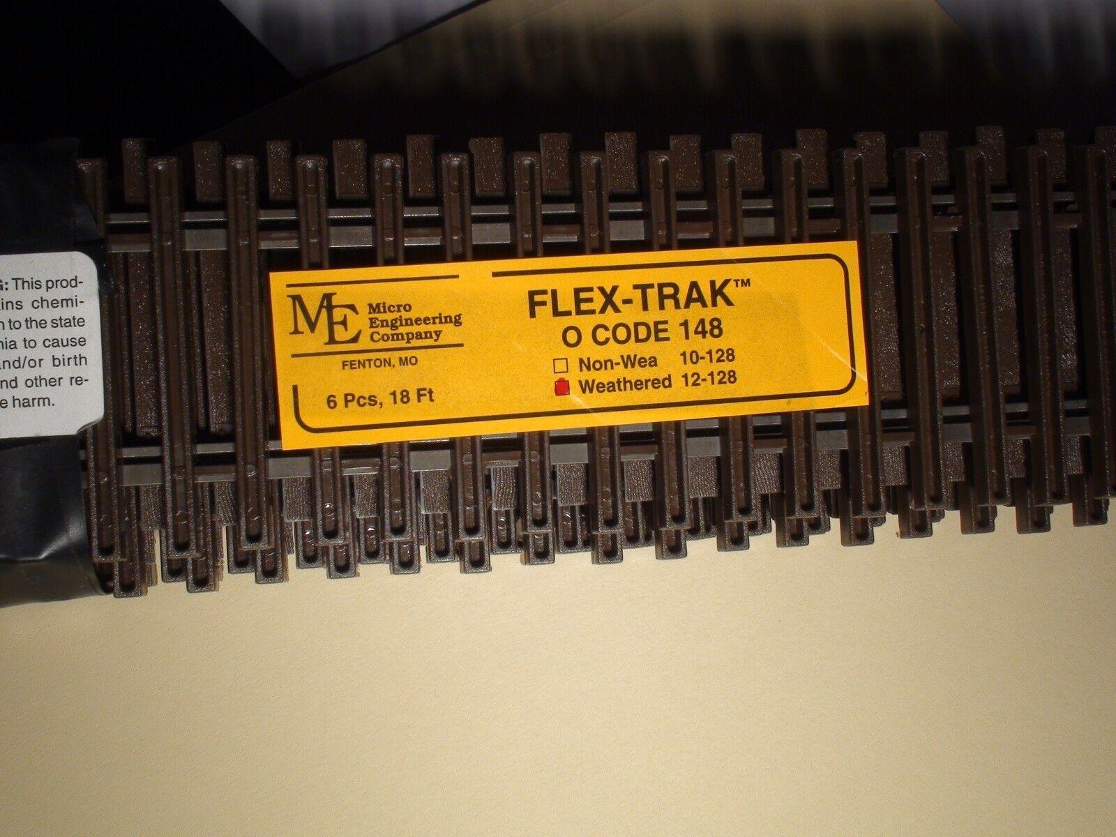 Escala O-Micro-ingeniería Flex-track código 148 degradado