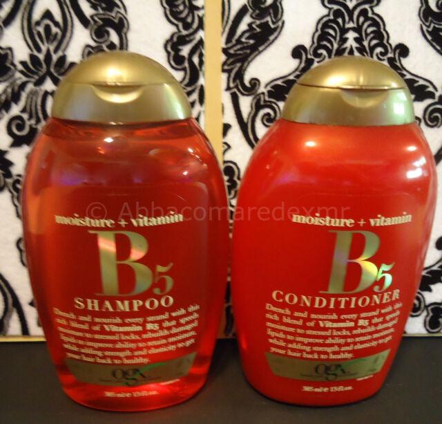 (1) Organix Moisture + Vitamin B5 Shampoo AND (1) Conditioner 13 fl oz OGX