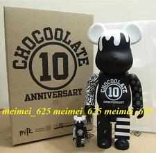 Bearbrick Medicom  2017 Milk x Chocoolate 10th Anniversary 100% & 400% Be@rbrick