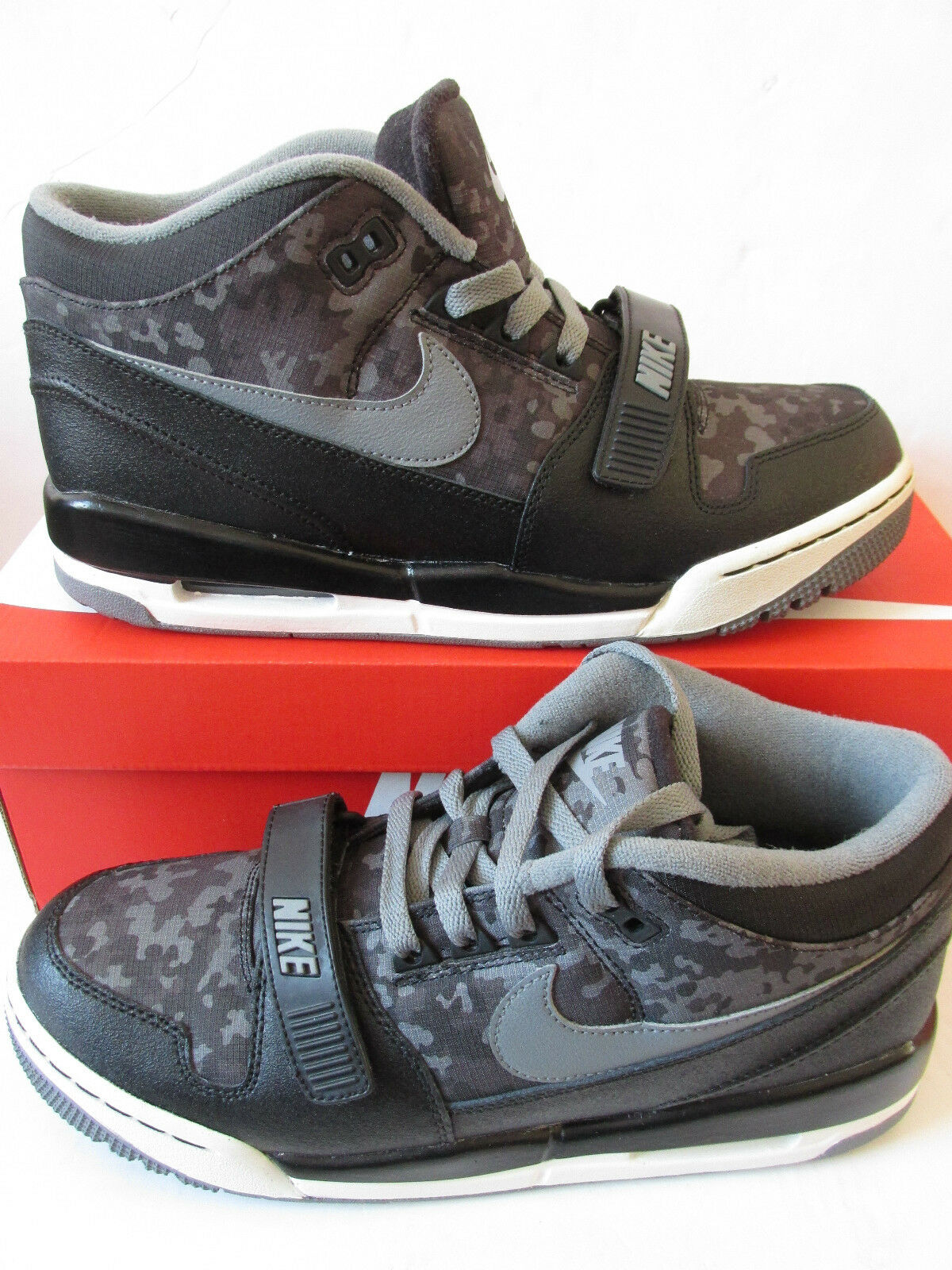 Comfortable and good-looking nike air alphalution PRM mens hi top trainers 708478 001 sneakers shoes