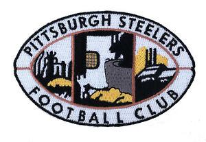 4 Pittsburgh Steelers Football Club 1945 1961 Retro Iron On