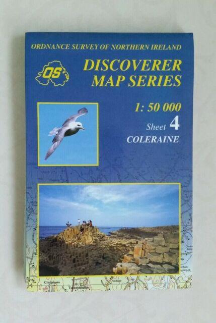 Coleraine (Irish Discoverer Series) by Ordnance Survey  Sheet map, folded    L1