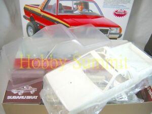 Tamiya-1-10-R-C-SUBARU-BRAT-Off-Road-Race-Truck-w-2-Bodies-58384
