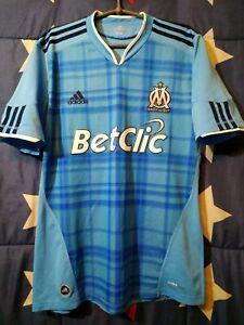 SIZE M Olympique Marseille (OM) 2010-2011 Away Football Shirt Jersey