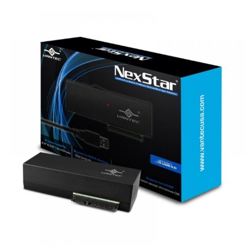 Vantec NexStar USB 3.0 to SATA 6Gbps Optical//Storage Adapter