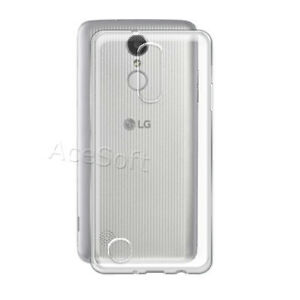 new styles fbd6c b9b81 Details about Anti-Slip Back Bumper Protection Case Cover f Cricket LG  Fortune M153 Smartphone