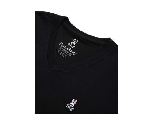 Psycho Bunny Classic V-Neck H.Navy Men/'s Big and Tall Tee Shirt B9U100ARPC-HNV