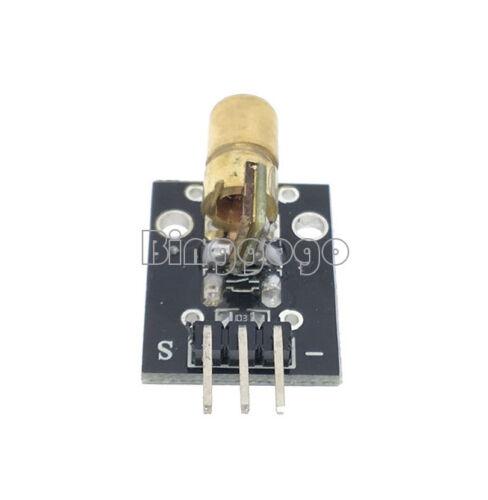 2//5//10Stks KY-008 Laser Transmitter Sensor Modul Für Arduino AVR PIC Neu