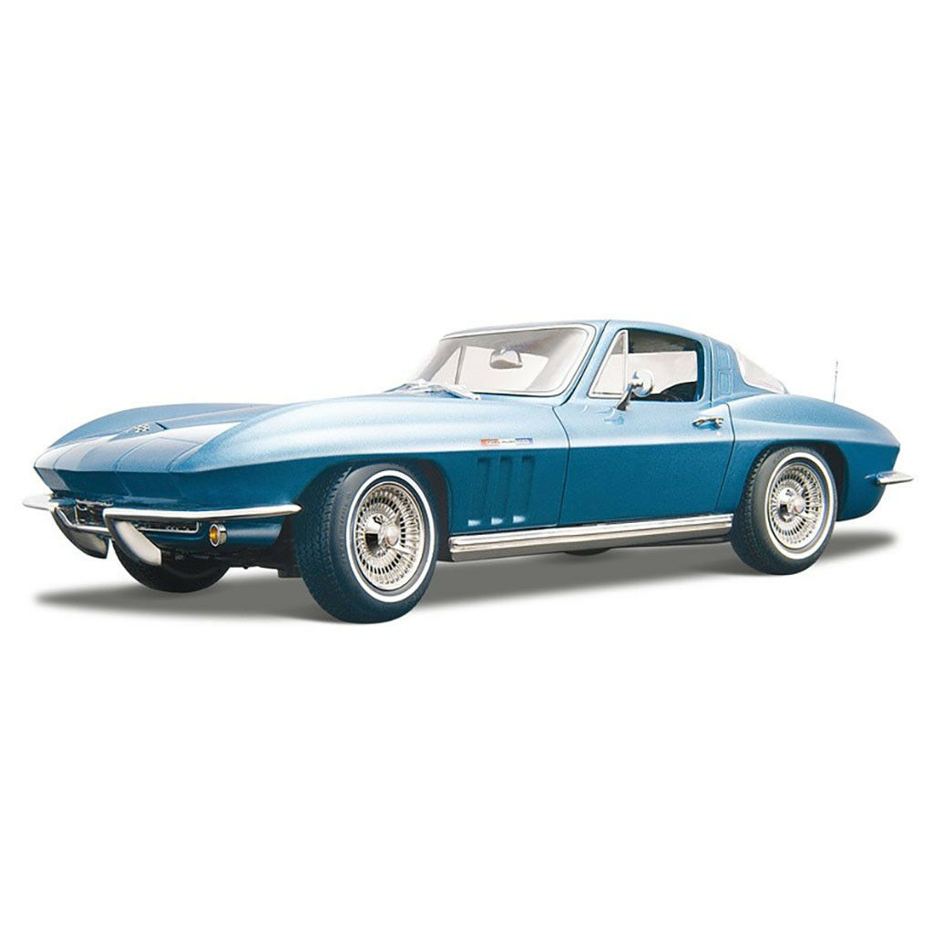 1 18 1965 Chevrolet Corvette Diecast Muscle modèle de voiture Maisto