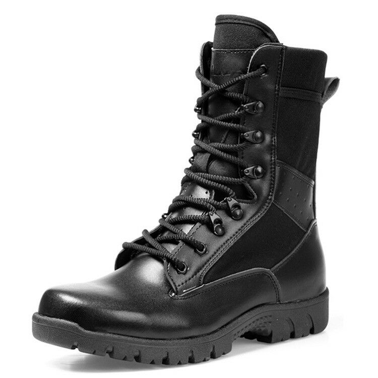 Military Men's Tactical Army Boots Hiking Climbing Camping Athletic shoes Boots