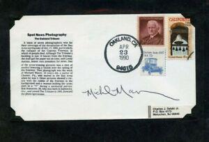 Autografato-Busta-Micheal-Macor-Pulitzer-Premio-Vincere-Fotografa