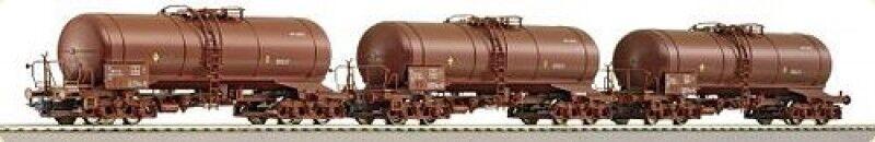 Roco 66090 Renfe 3-tlg set vagones us marrón época V pista KK h0-nuevo