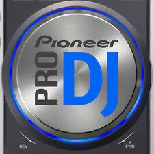 PIONEER CDJ200 PRO DJ (BLUE) JOG DIAL SLIPMAT GRAPHICS /  SERATO TRAKTOR CDJ 200