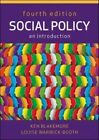 Social Policy: An Introduction: An Introduction by Louise Warwick-Booth, Ken Blakemore (Paperback, 2013)