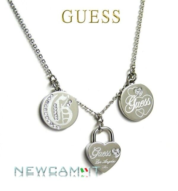 GUESS STEEL COLLANA USN11003 Listino  69,00 JEWELS
