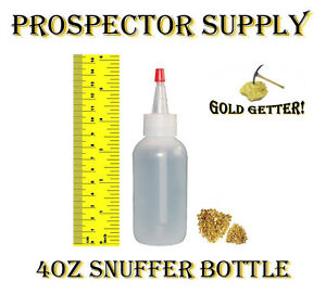 4-OZ-SNUFFER-BOTTLE-Clean-up-Panning-Concentrate-Pay-Dirt-for-Fine-Flour-Gold