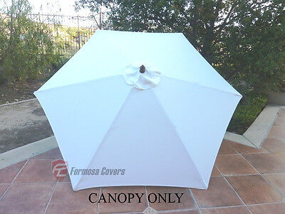 Lime 9ft Patio Outdoor Market Umbrella Replacement Canopy Cover Top 6 ribs