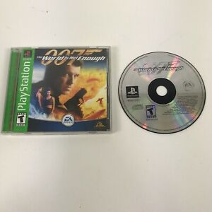 007 World Is Not Enough Gh Greatest Hits Sony Playstation 1 Ps1