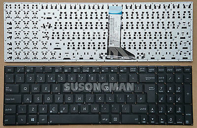 New Black UK Layout Keyboard ASUS X502 X502C X502CA X553 X553M X553MA