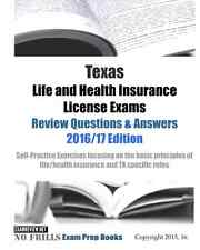 Texas Life and Health Insurance License Exam Review Questions Answers 2016/17