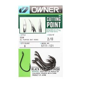 OWNER SSW CUTTING POINT SIZE:2//0 QTY:8 5111-121