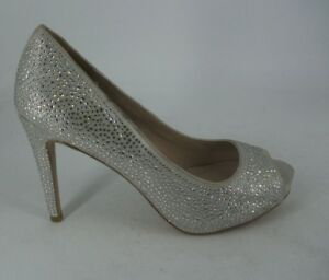 04 Diamante Carvela 6 Geiger 39 Js092 Court Open Oo Toe Eu Uk Shoes Kurt IxOw8nBn