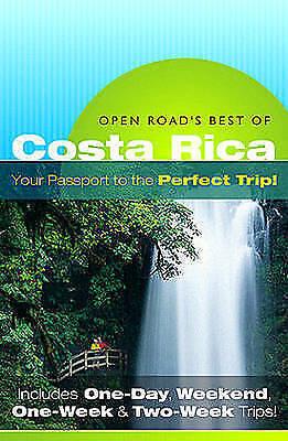 Very Good, Open Road's Best of Costa Rica, Charlie Morris, Book