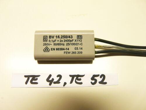 Kondensator für Hilti TE 42 ! TE 52 Neu  !!!! BV16250//43//11