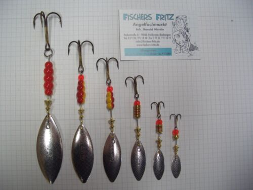 Original Mepps Longue Silber alle Größen Kunstköder Spinner Blinker Köder