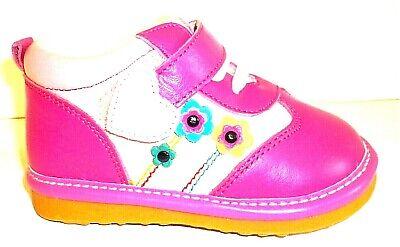 Toddler Children Kids Baby Boys GIrls Squeaky Single Shoes Sneaker Prewalker AB