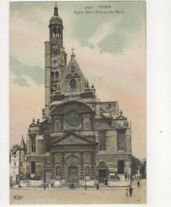 Paris Eglise Saint Etienne Du Mont ELD 4043 France Vintage Postcard 211b - Aberystwyth, United Kingdom - Paris Eglise Saint Etienne Du Mont ELD 4043 France Vintage Postcard 211b - Aberystwyth, United Kingdom